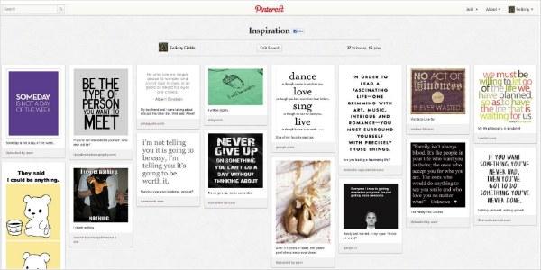 FelicityFields.com Inspiration Pinterest Board - Social Media, Website Design, Twitter, Facebook, Blog, SEO, Email, Training