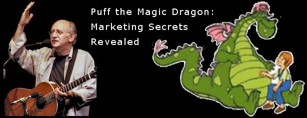 Puff, the Magic Dragon - FelicityFields.com Online Marketing Coach, Website Design, Email Lists, Blogs, Social Media, Training, Consulting