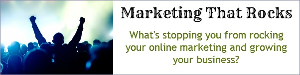 Marketing That Rocks - FelicityFields.com - Online Training Program Email, Facebook, Blog, Social Media